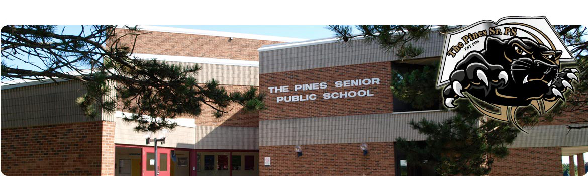 the pines school front entrance